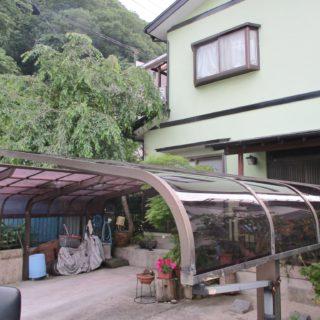 カーポート屋根工事 / 箱根町